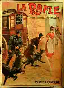 Advertising Poster La Rafle Play Theatre Roundup