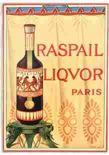 Advertising Poster Raspail Liquor Alcohol Paris