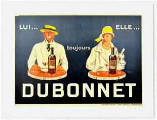 Advertising Poster Always Dubonnet Alcohol Drink France
