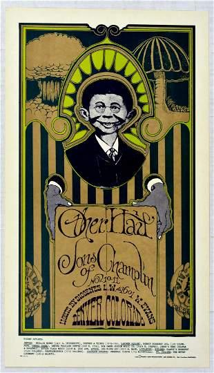 Rock Concert Poster Other Half Sons of Champlin Concert