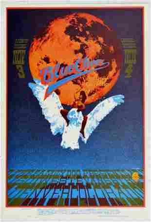 Rock Concert Poster Blue Cheer Denver Dog
