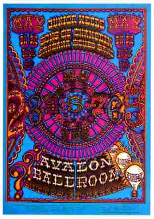 Rock Concert Poster Junior Wells Sons of Champlin