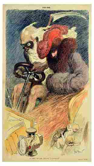 Advertising Poster Parisien Time Race Georges Meunier
