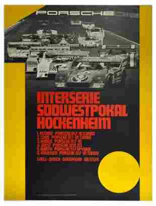 Sport Poster Porsche 917 Interserie Sudwestprokal