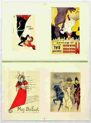 Advertising Poster Toulouse Lautrec May Belfort Jane