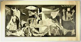 Advertising Poster Pablo Picasso Guernica