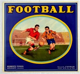 Sport Poster Football Spain Norberto Ferrer