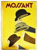 Advertising Poster Mossant Hats Leonetto Cappiello
