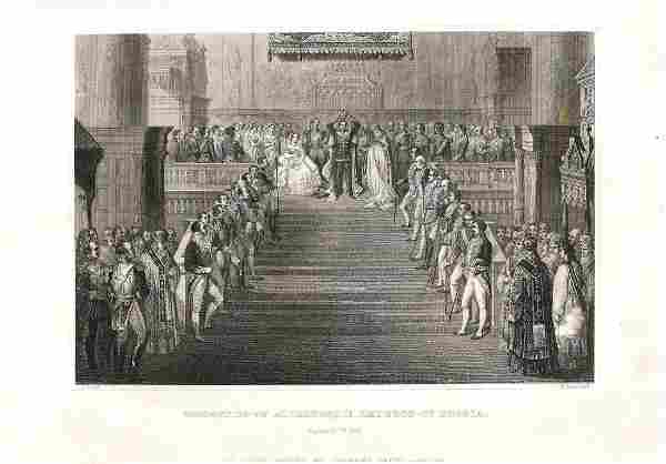 Coronation of Alexander II. Emperor of Russia