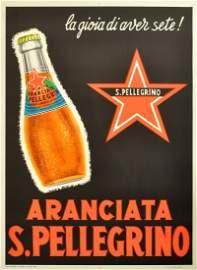 Advertising Posters Aranciata San Pellegrino Milan
