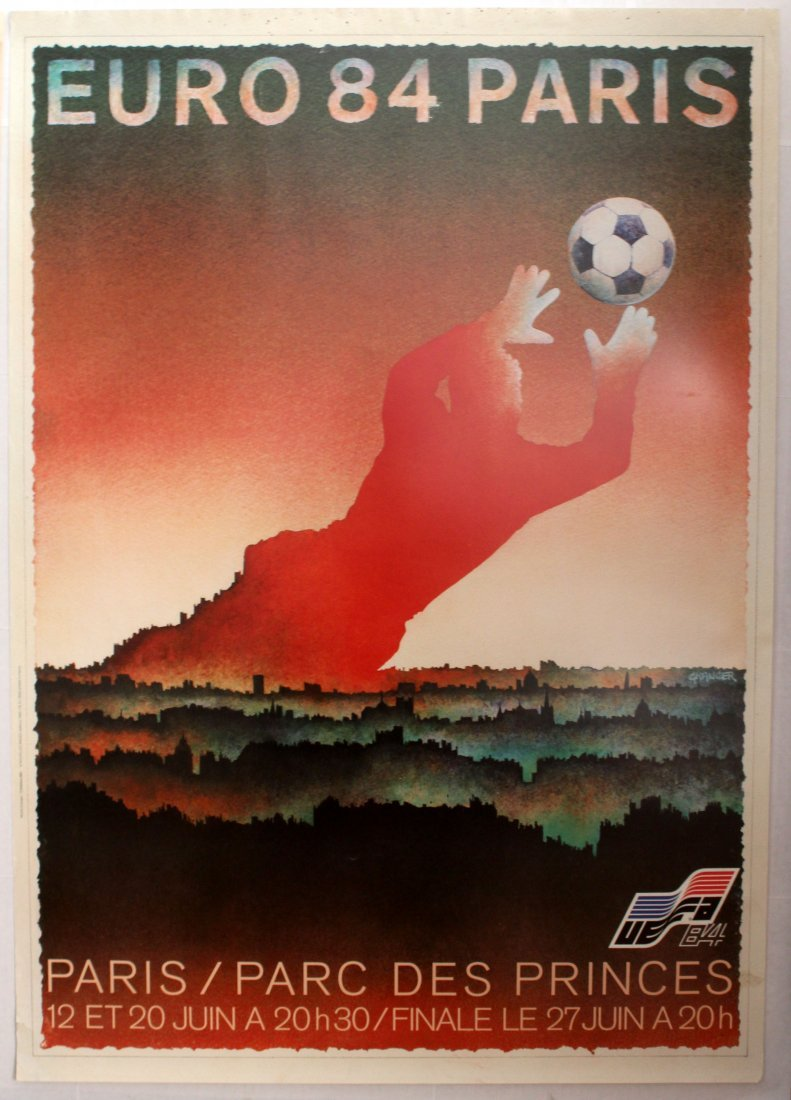 UEFA Euro Cup 1984 Football Soccer Movie poster