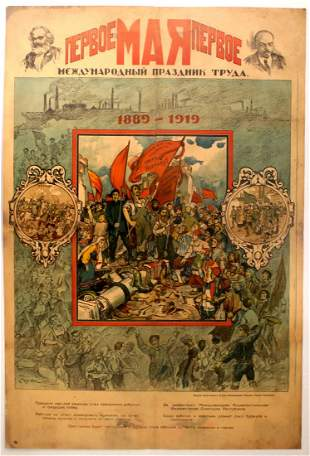 Propaganda Poster May Day