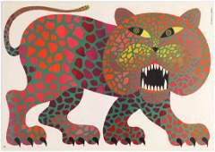 Advertising Poster Polish Circus Cyrk Panther