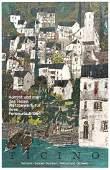 Travel Poster Ticino Switzerland