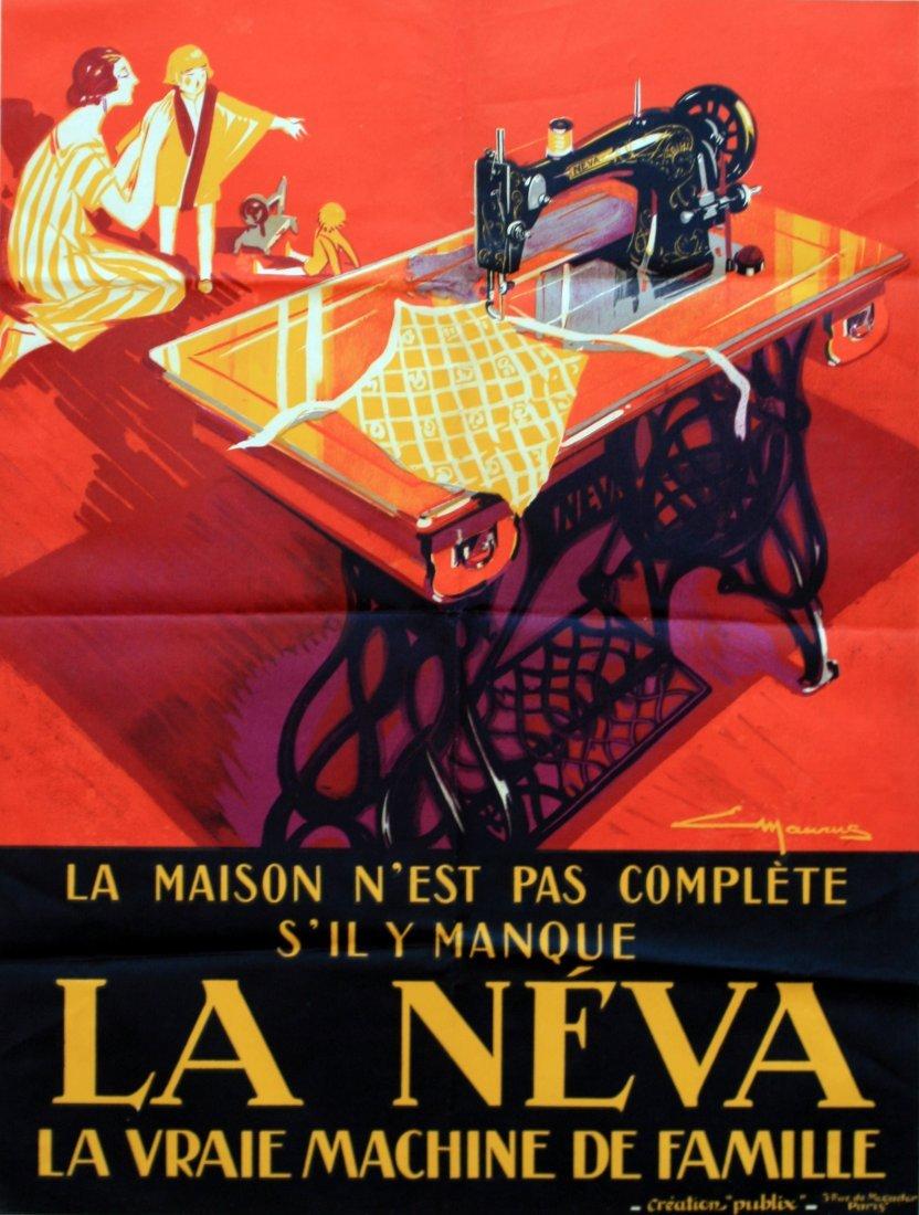 Advertising Poster La Neva