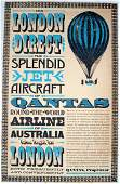 Advertising Posters For London Direct - Qantas