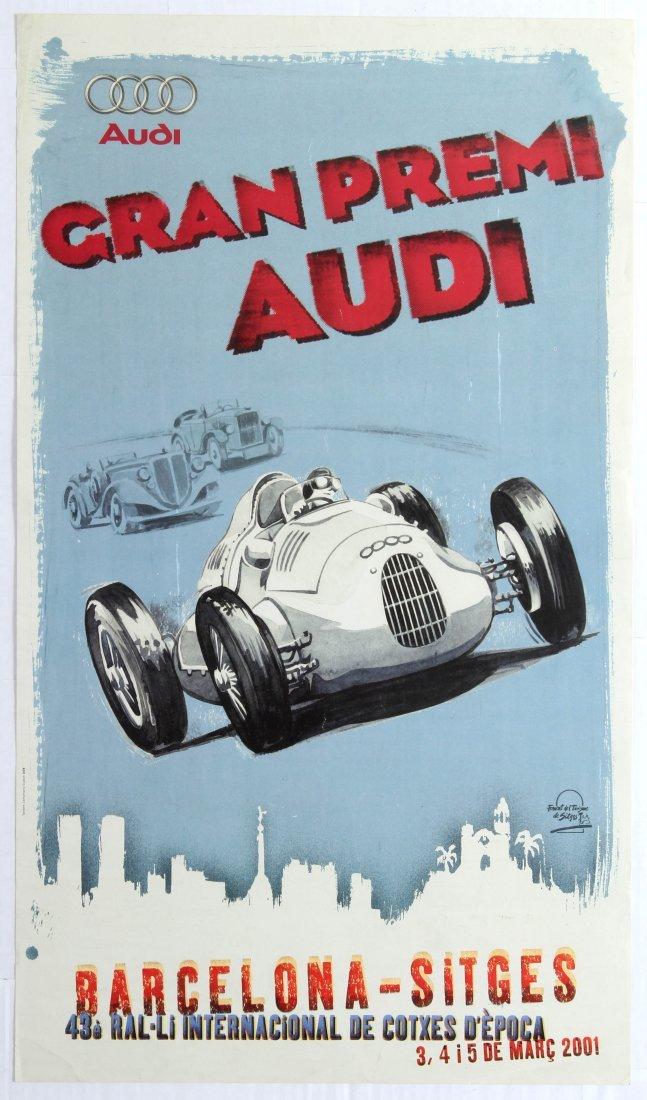 Sport Poster Audi Grand Prix