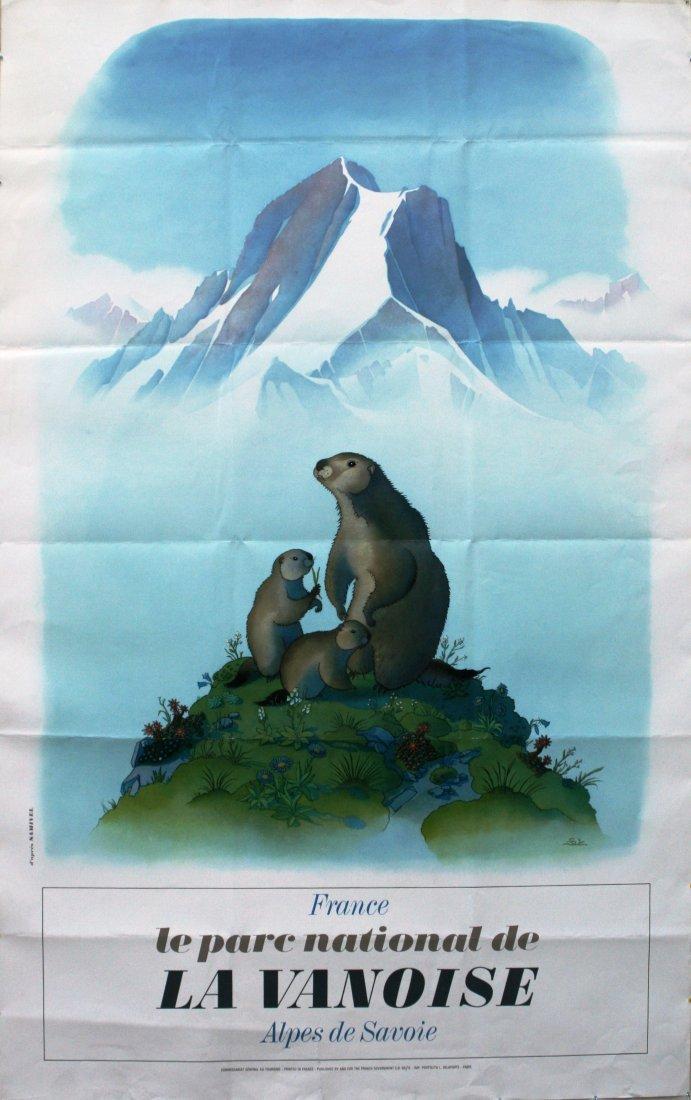 Travel Poster Alpes de Savoie