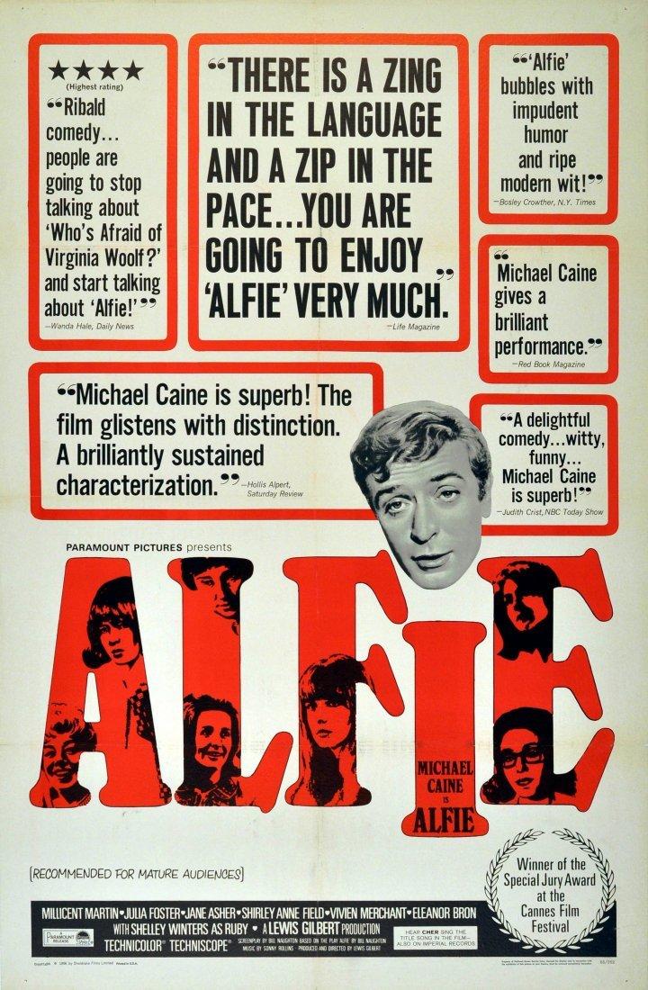 Cinema Poster Alfie Michael Caine