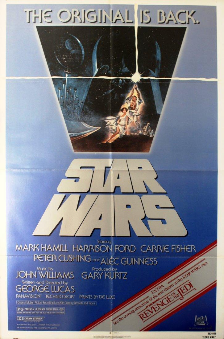 Cinema Poster Star Wars The Original is Back