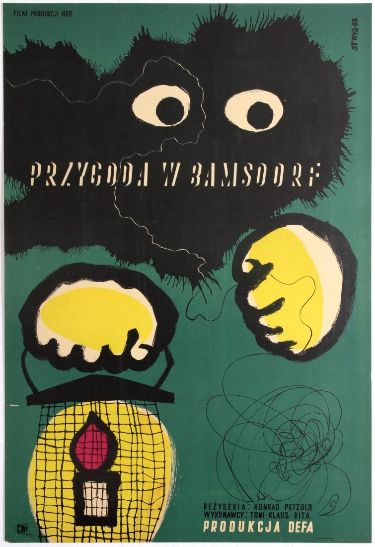 Polish Movie Poster for the German film Abenteuer in