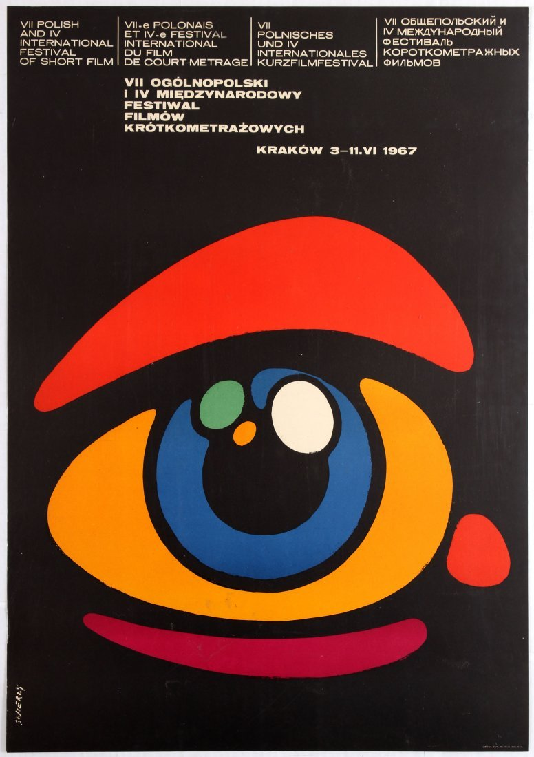 Polish Movie Poster Polish and International Festival