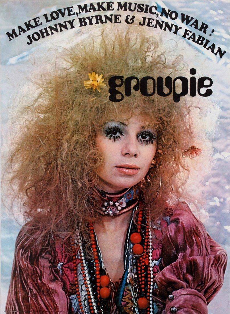 Advertising Poster Groupie - Make Love, Make Music, No