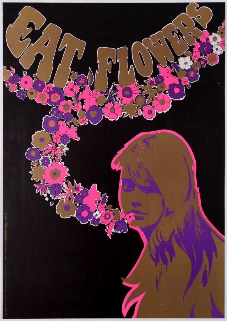Advertising Poster Eat Flowers