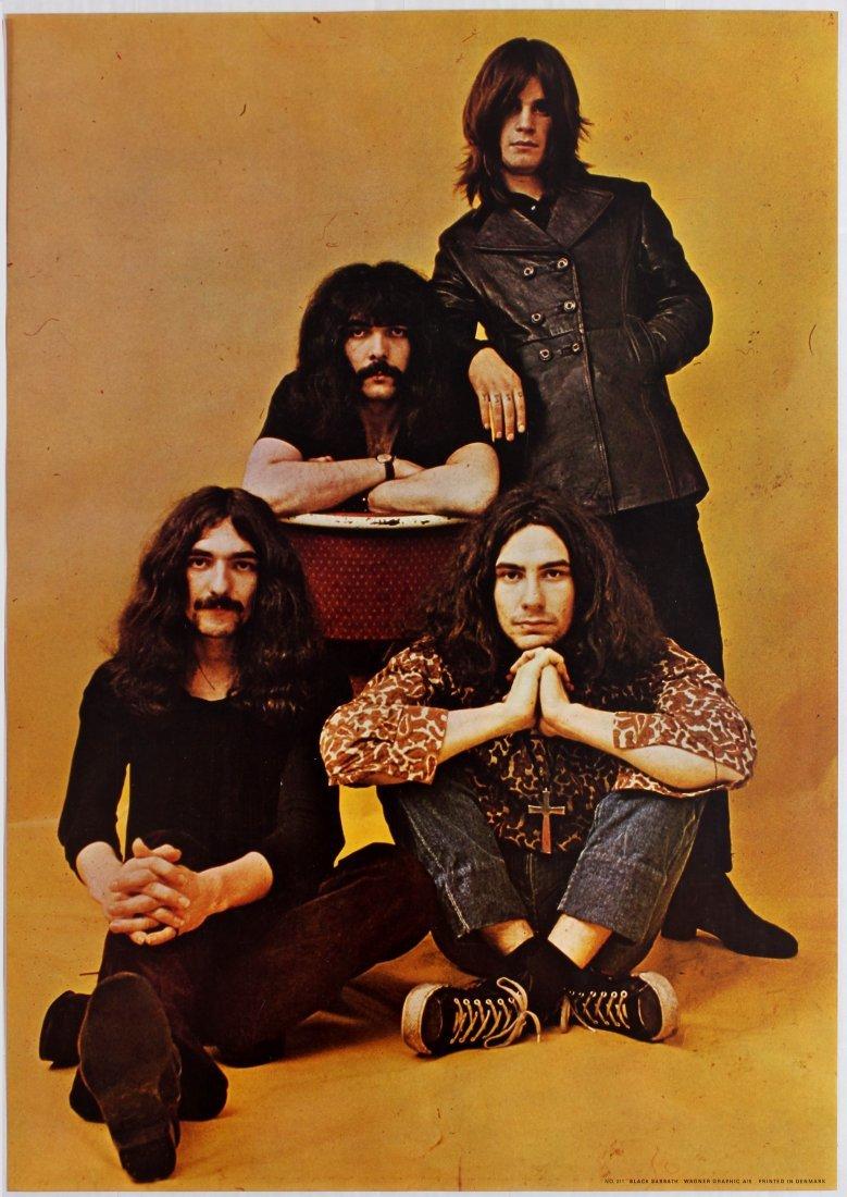 Advertising Poster Black Sabbath