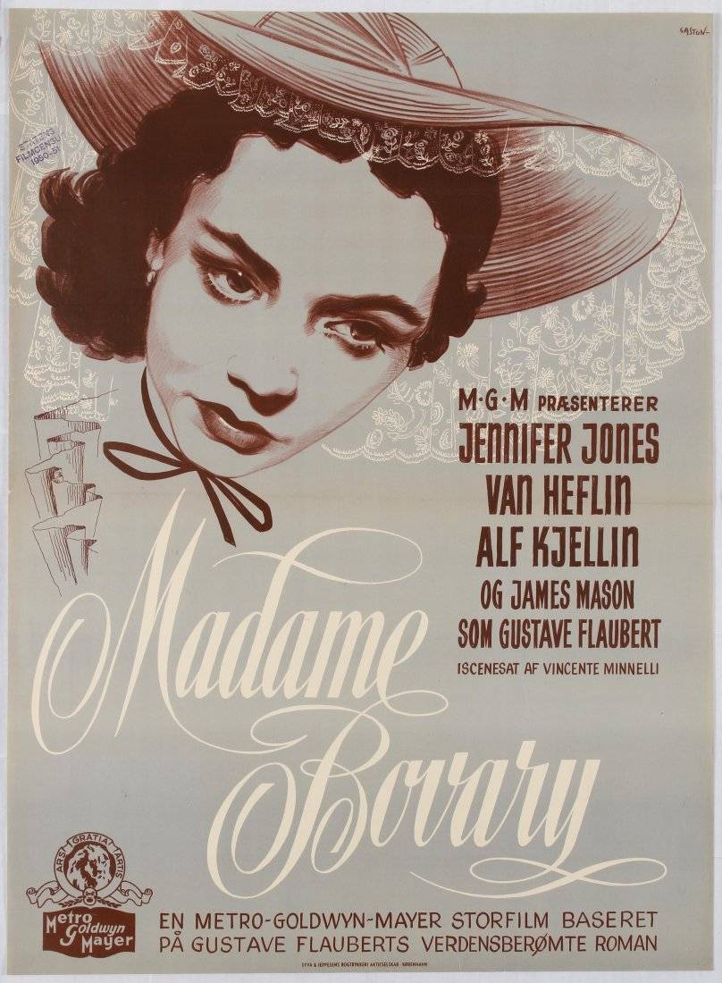 Movie Poster Madame Bovary Directed by Vincente
