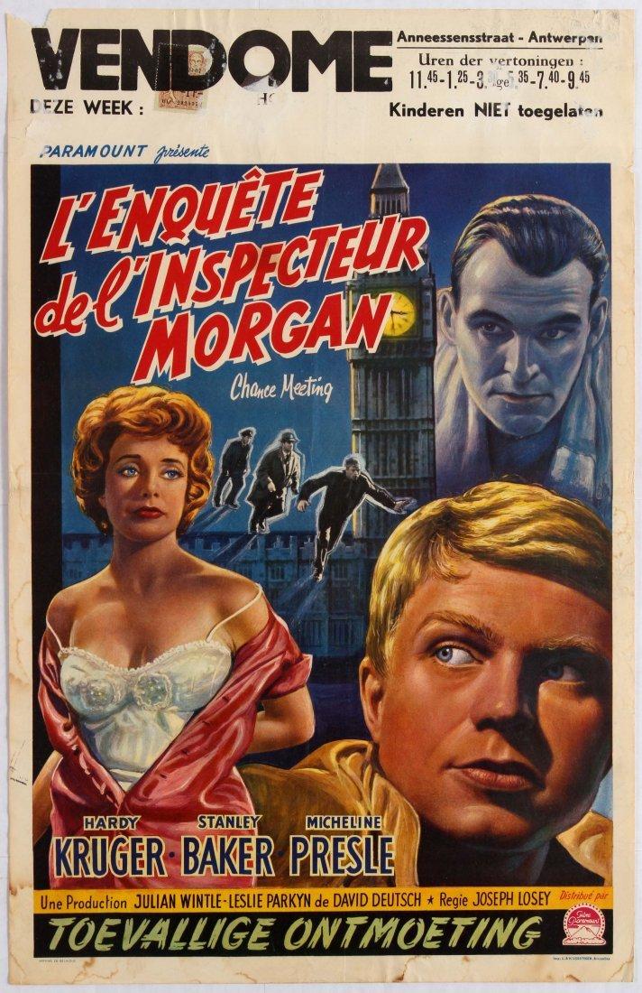 Movie Poster L'enquete de l'inspecteur Morgan Chance