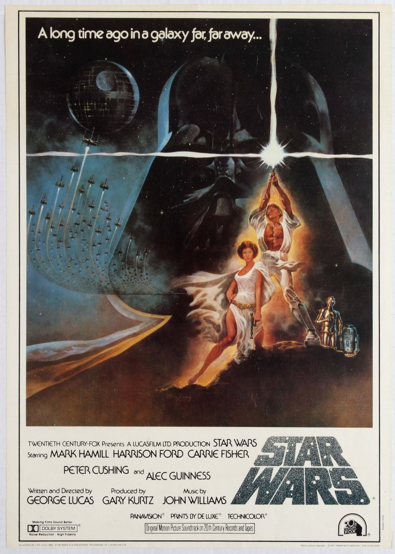 Movie Poster Star Wars Commercial