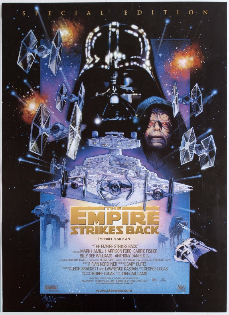 Movie Poster Star Wars The Empire Strikes Back