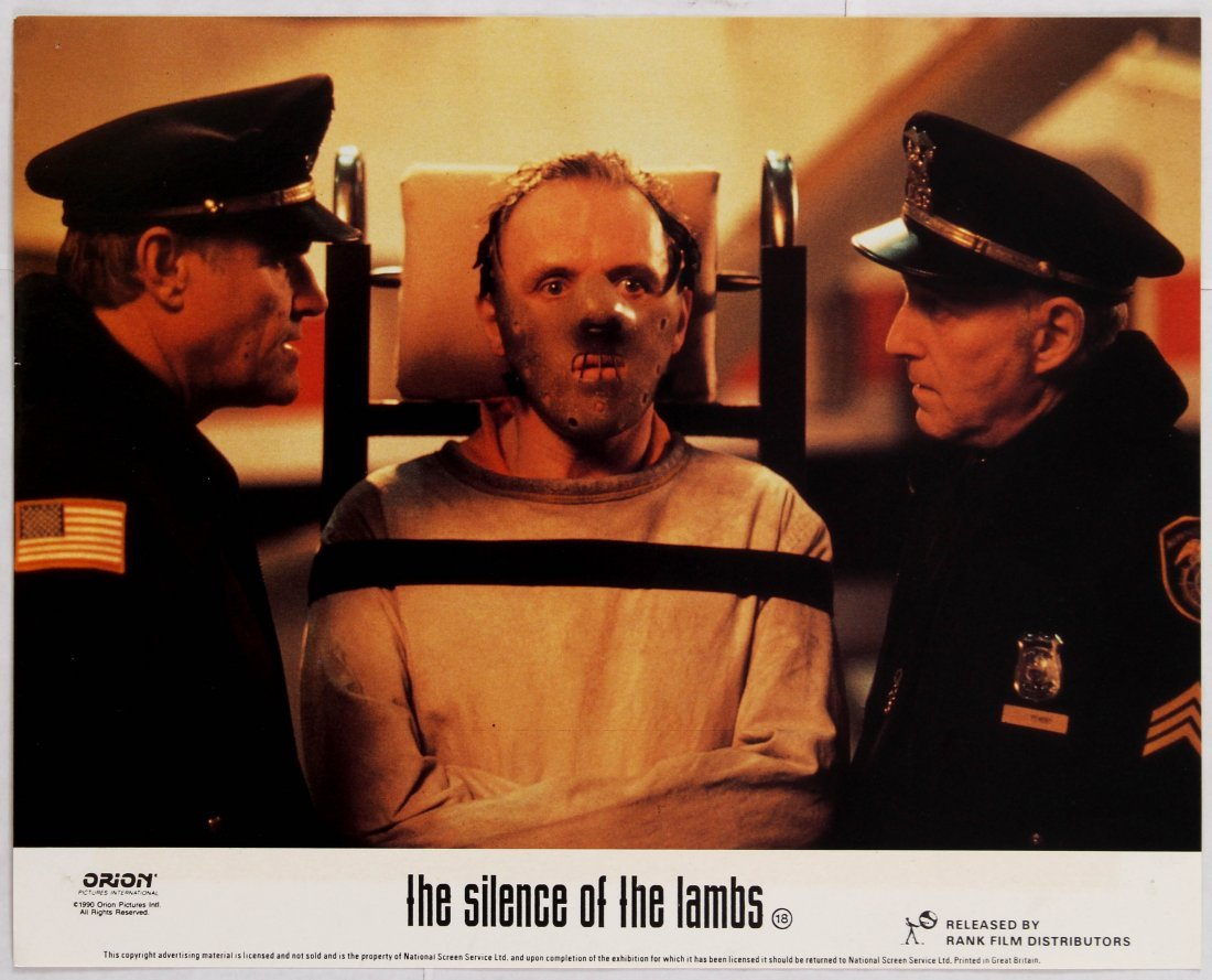 Looby Card Movie Poster Set The Silence of the Lambs