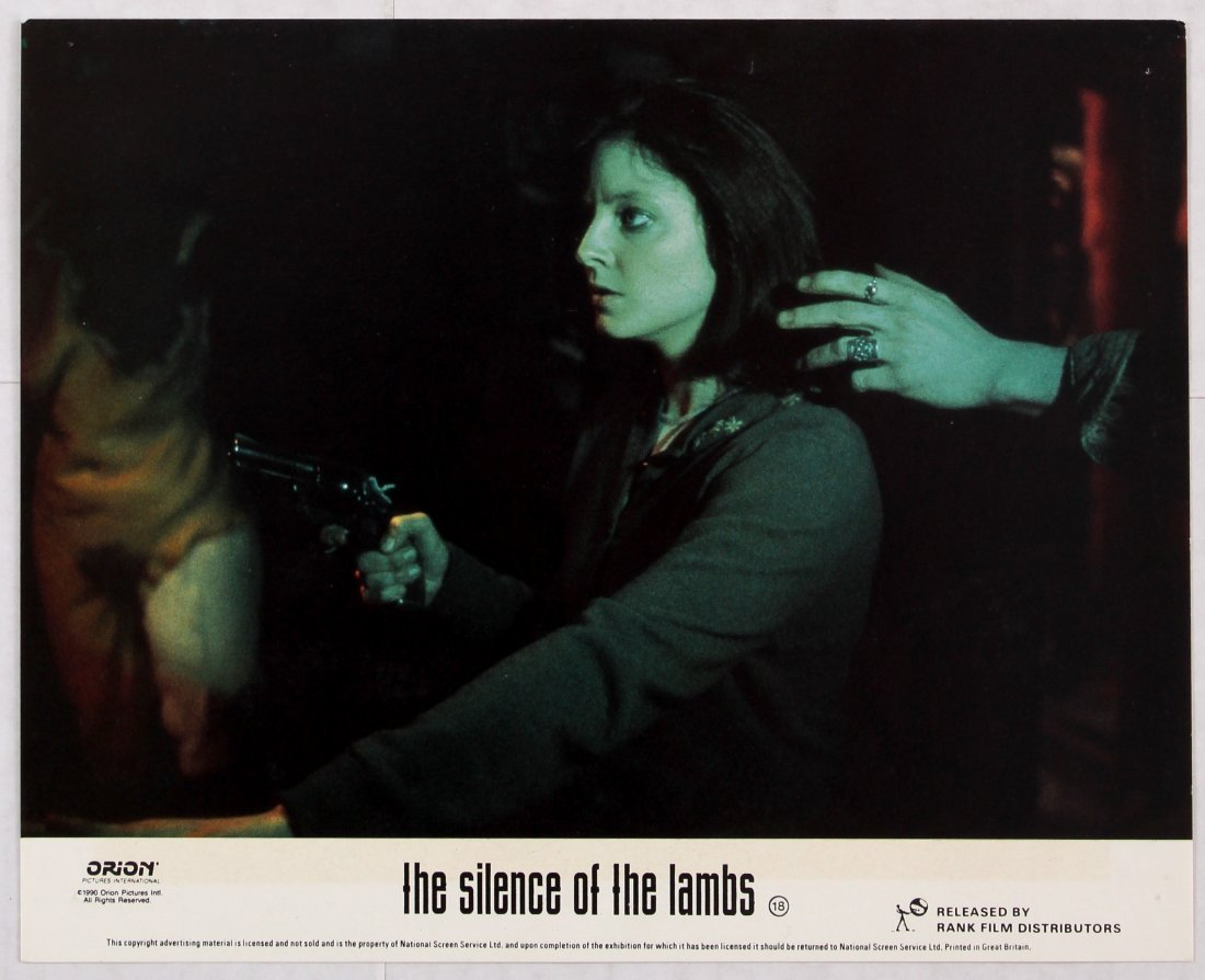 Looby Card Movie Poster Set The Silence of the Lambs - 2