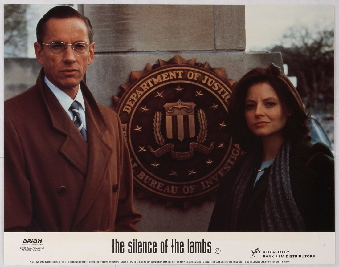 Looby Card Movie Poster Set The Silence of the Lambs - 3