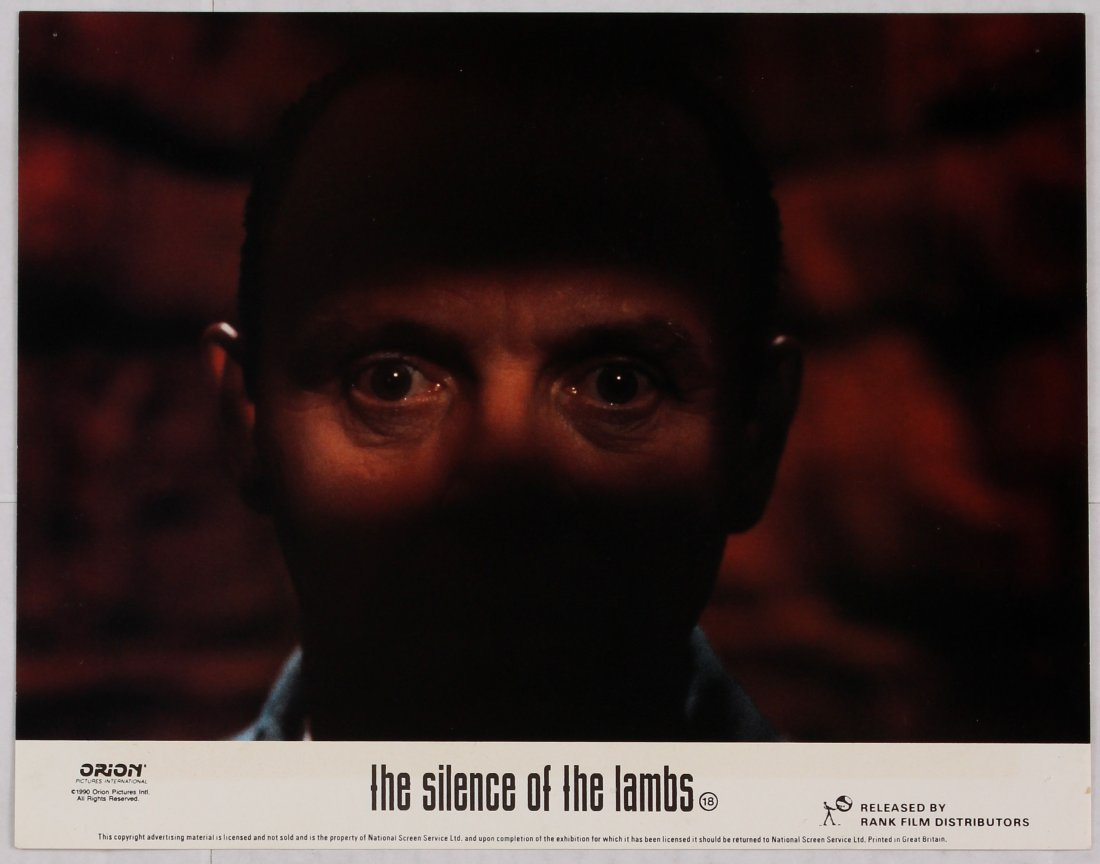 Looby Card Movie Poster Set The Silence of the Lambs - 4