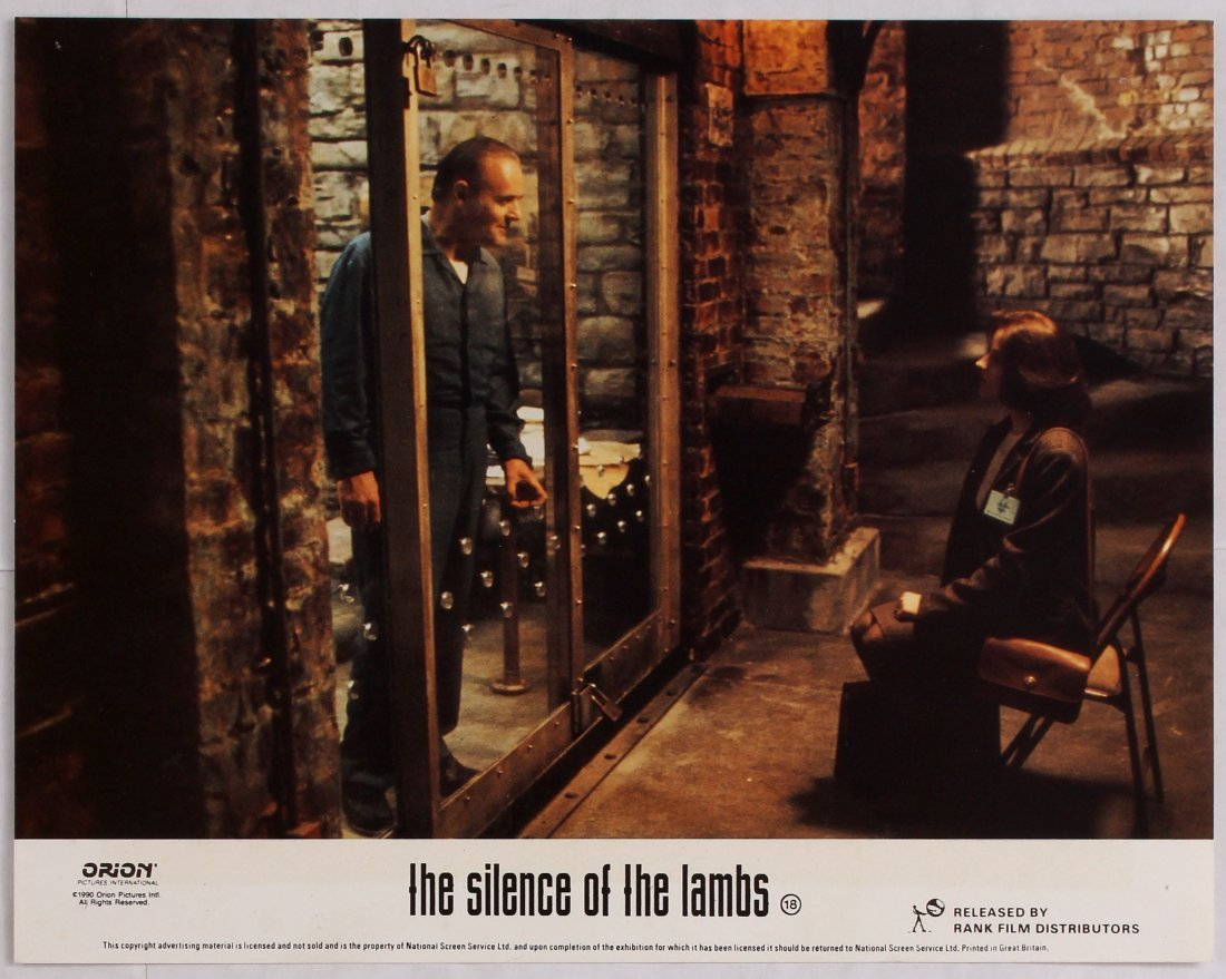 Looby Card Movie Poster Set The Silence of the Lambs - 5