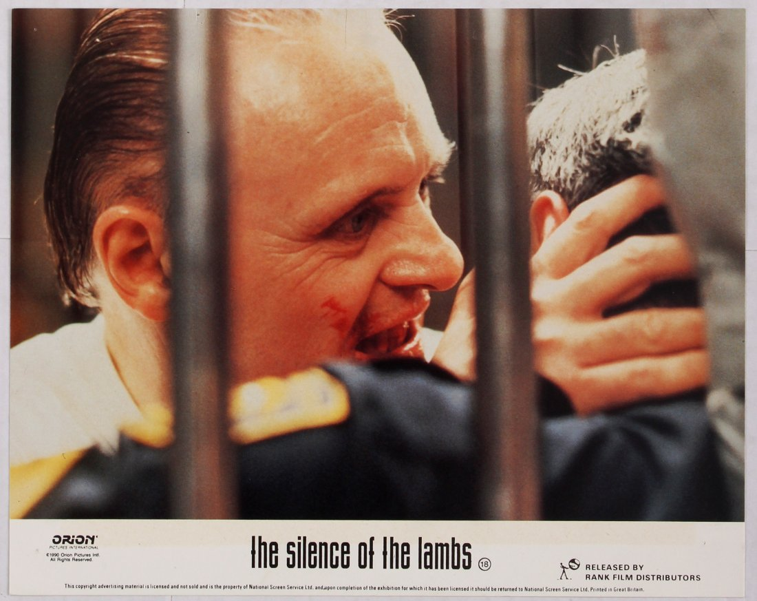 Looby Card Movie Poster Set The Silence of the Lambs - 6