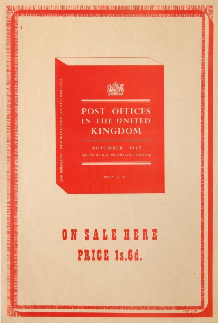 Post Offices in the United Kingdom November 1947
