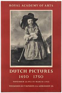 Advertising Poster Royal Academy of Arts Dutch Pictures
