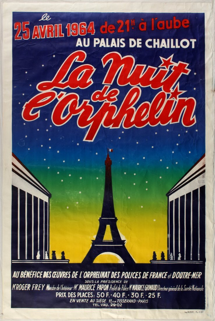 Advertising Poster Charity Event Poster Eiffel Tower