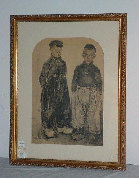"""1: Kees (Cornelius) Bolding, Dutch 1897-1979 """"Volendam"""""""
