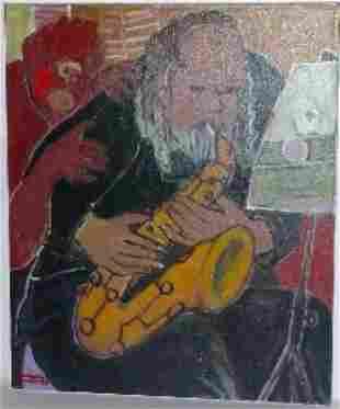 "Harry Jacques (Arijac) Haiti b. 1937 ""La Note Blanch"
