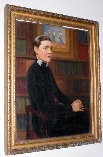 "13: David Immerman, American b. 1911 - d. ? ""Portrait o"
