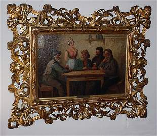 "Axel Svensen, 19th/20th century oil on canvas ""Tave"