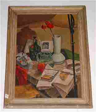 "A. Murano, Continental 20th century, ""Still Life"" s"