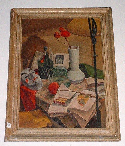 "19: A. Murano, Continental 20th century, ""Still Life"" s"