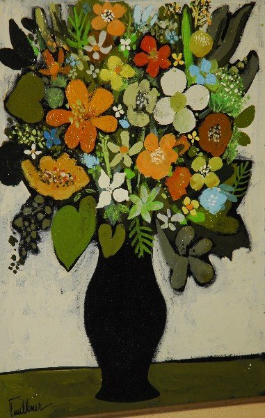 Henry Faulkner, Am. 1924-1981 Signed Oil on Canvas