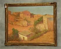 F Nunoz Millon 20th c Cordoba oil on canvas signed